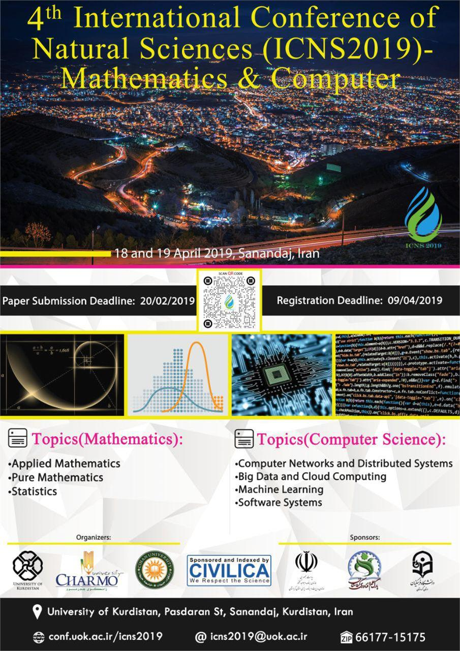 4th International Conference on Natural Sciences (ICNS2019)-Mathematics & Computer